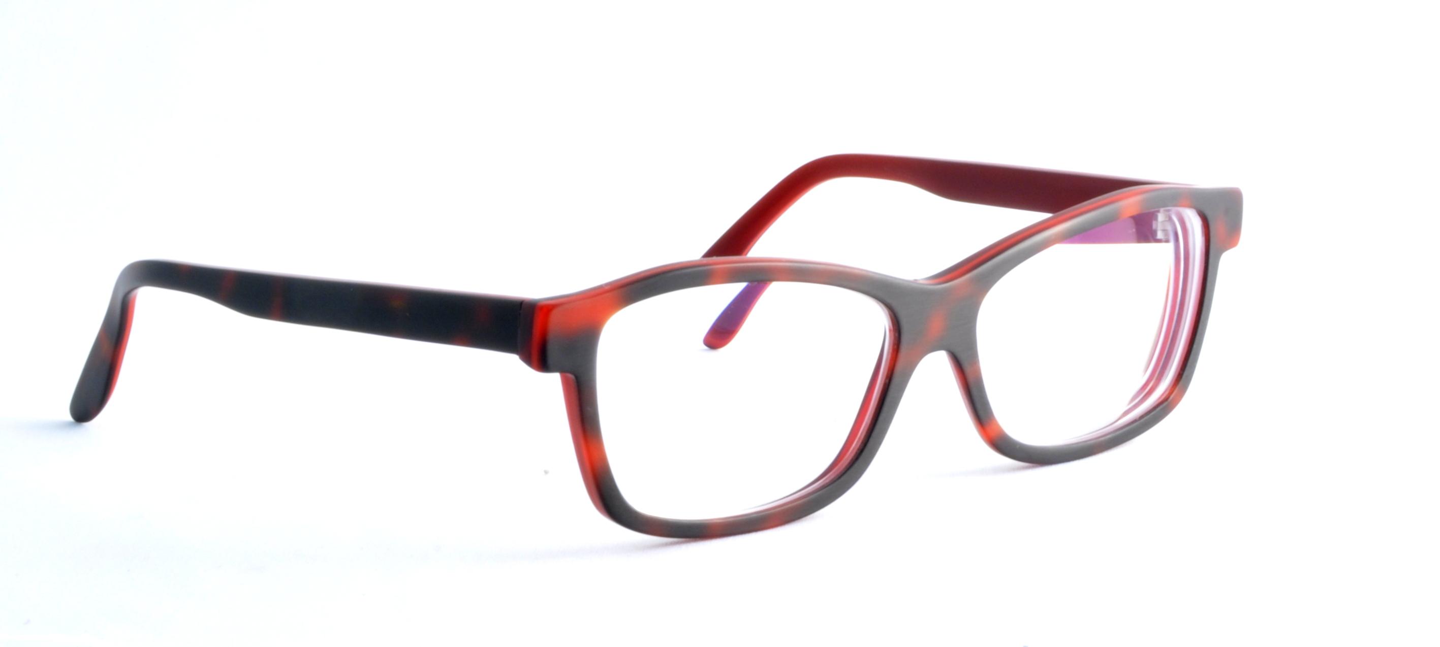 Acetatbrille für Frau Schmidt