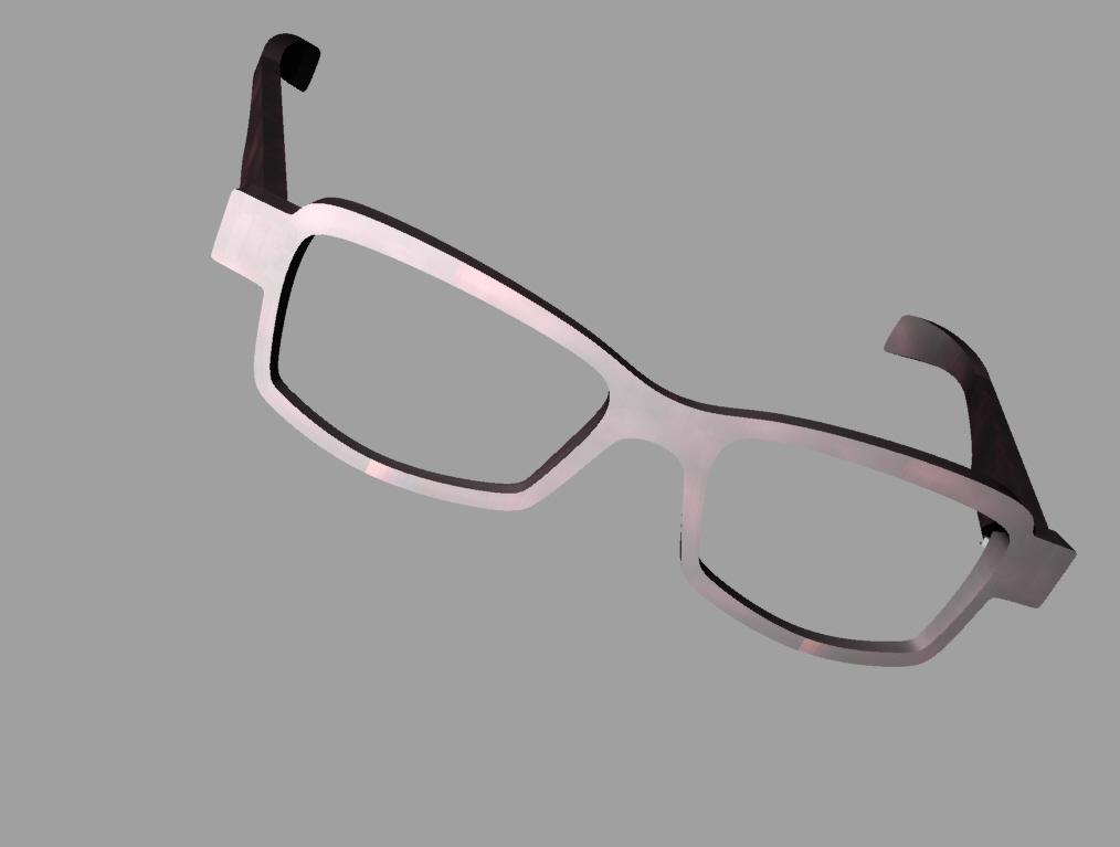 madeleines Brille als Simulation